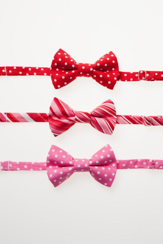 ties by littlegentleman via etsy - Valentines Day With Kids