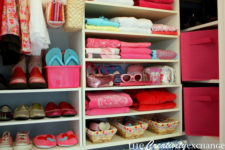 Organized Kid Closet By Creativity Exchange