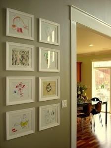 Framed Family Gallery via Emily A. Clark