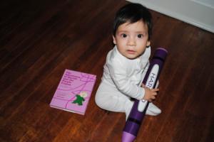 Harold and the Purple Crayon via La Vita Petite