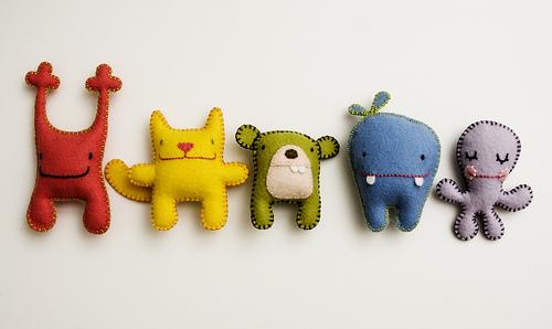 Маленькие мягкие игрушки сделать своими руками