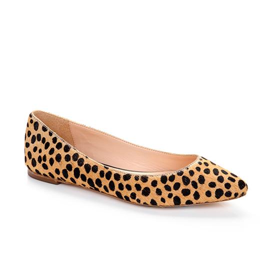 Leopard flats via Loeffler Randall