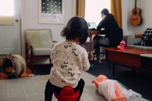 remote working parent